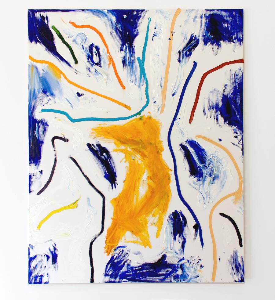 IMG_8243, 140 x 110cm, Öl auf Leinwand, 2016. Robert Gfader